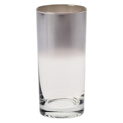Krosno 11.9oz Ombre Tall Tumbler Silver