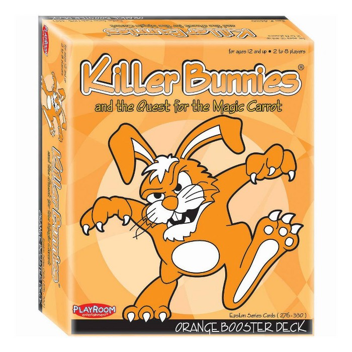 Killer Bunnies And The Quest For The Magic Carrot Game: Orange Booster Deck : Target