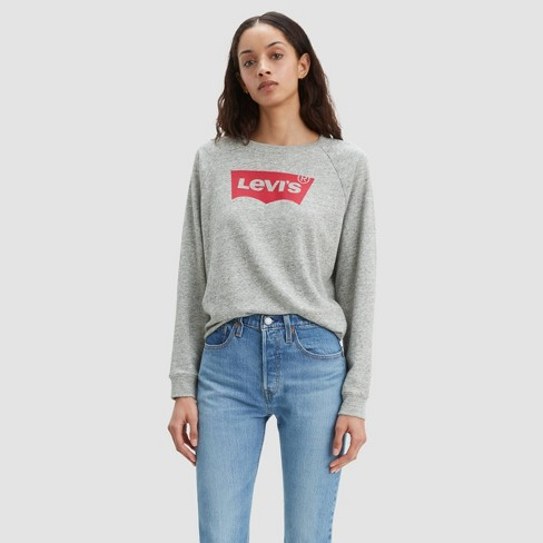 Levi's® Women's Relaxed Graphic Crewneck Sweatshirt - image 1 of 2