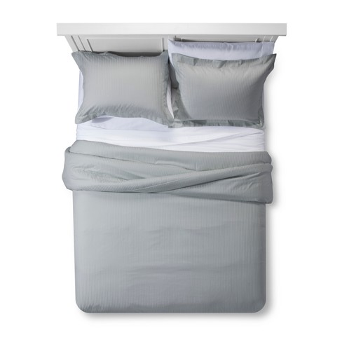Damask Stripe Comforter Set Fieldcrest