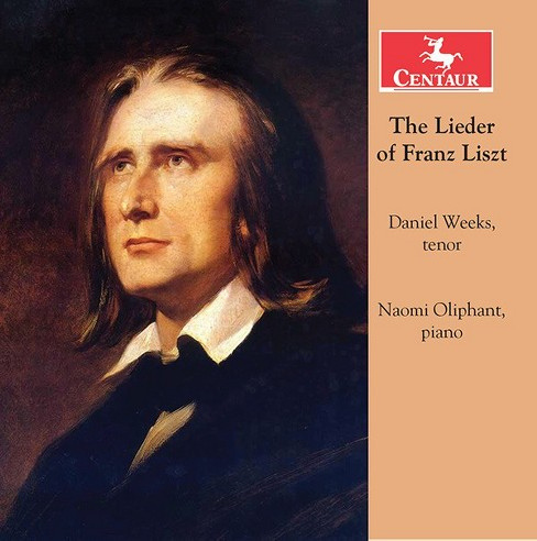 Daniel weeks - Lieder of franz liszt (CD) - image 1 of 1