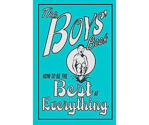 The Boys' Book (The Boys' Book) (Hardcover) by Dominique Enright - image 1 of 1