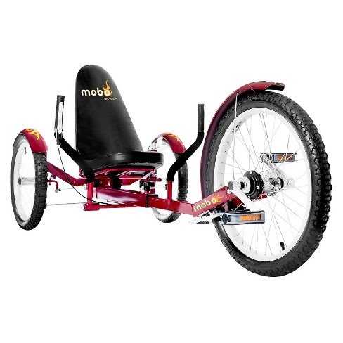 "Mobo Adult Triton Pro 20"" Three Wheeled Cruiser - Red - image 1 of 5"