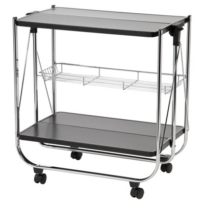 IRIS Rolling Storage Cart - Black