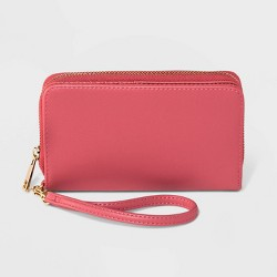 Zip Closure Wristlet - A New Day™