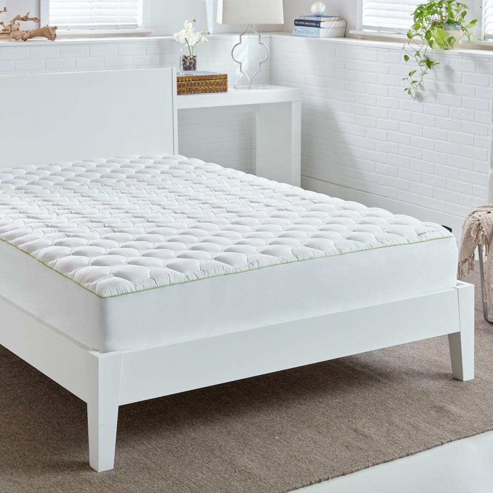 Image of White Hyper-Cotton 4.0 Mattress Pad (Full) - Bedgear