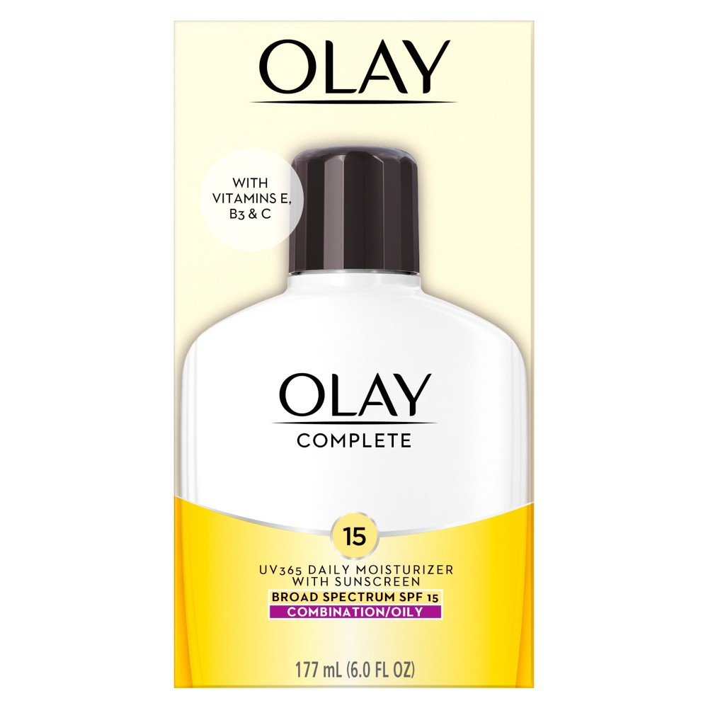 Image of Olay Complete All Day Moisturizer With SPF15 - Combination/Oily 6 oz