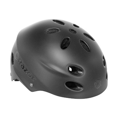 Razor 97958 V-17 Youth Kids Safety Multi Sport Bicycle Helmet For Children 8-14 with 17 Cooling Vents, Adjustable Strap, and Padding, Black