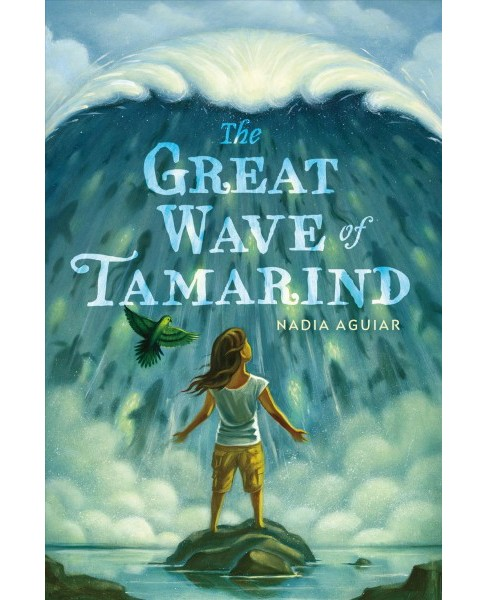 Great Wave of Tamarind -  (Lost Island of Tamarind) by Nadia Aguiar (Hardcover) - image 1 of 1