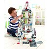 Hape Multi Level 4 Tier 37 Piece Wooden Discovery Spaceship Center Kids Activity Play Set with Accessories - image 2 of 4