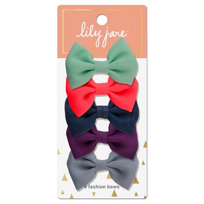 Lily Jane Fashion Bows - 5ct