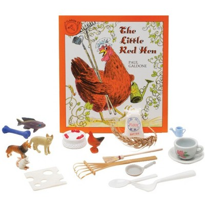 Primary Concepts The Little Red Hen 3-D Storybook and Manipulatives, Grades PreK to 3