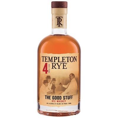 Templeton Rye Whiskey - 750ml Bottle