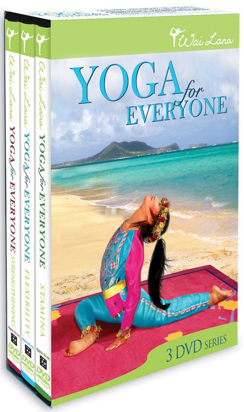 Wai lana:Yoga for everyone tripack (DVD) - image 1 of 1