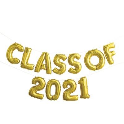 'Class of 2021' Graduation Foil Balloon - Spritz™