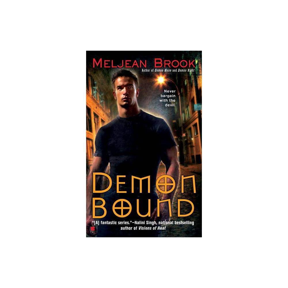 Demon Bound Berkley Sensation By Meljean Brook Paperback