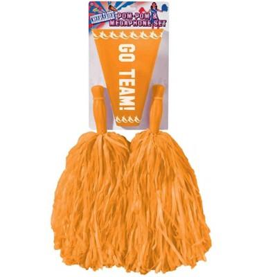 Forum Novelties Orange Cheerleader Kit
