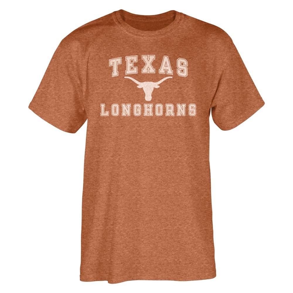 NCAA Texas Longhorns Mens Short Sleeve Crew Neck T-Shirt - L
