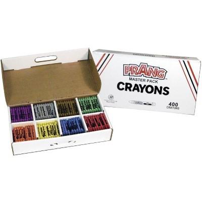 Prang Non-Toxic Crayon Classroom pk, Assorted Color, set of 400