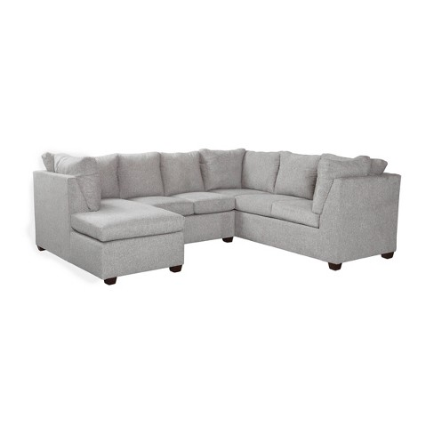 Medford Sectional Sofa with Left Chaise Gray - Threshold™ - image 1 of 4