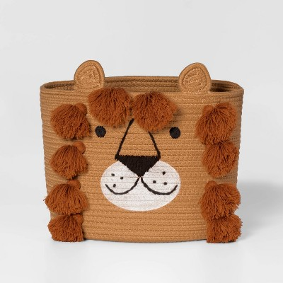 Lion Coiled Rope Basket - Pillowfort™