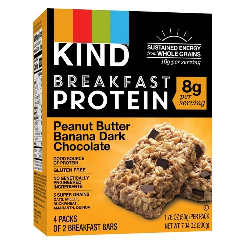 KIND Peanut Butter Banana Dark Chocolate Protein Bars - 4ct - image 1 of 2