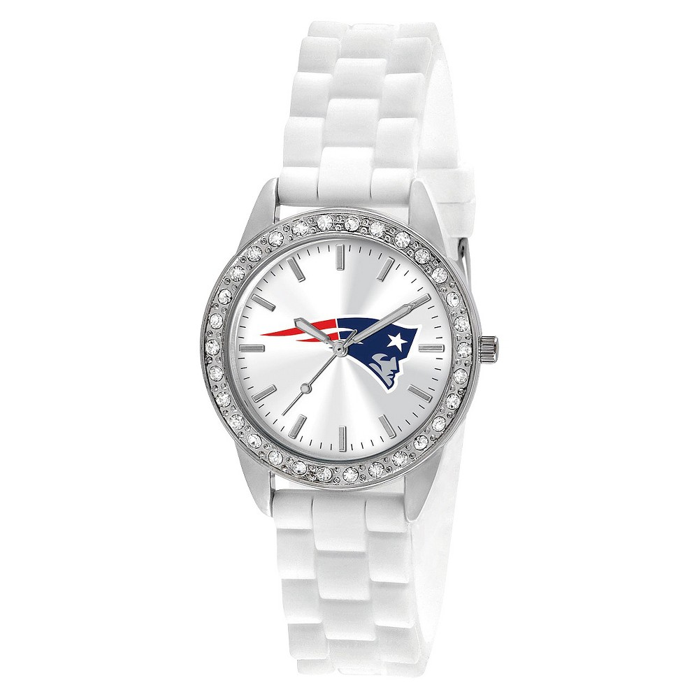 Women's Game Time Frost Series Watch New England Patriots - White