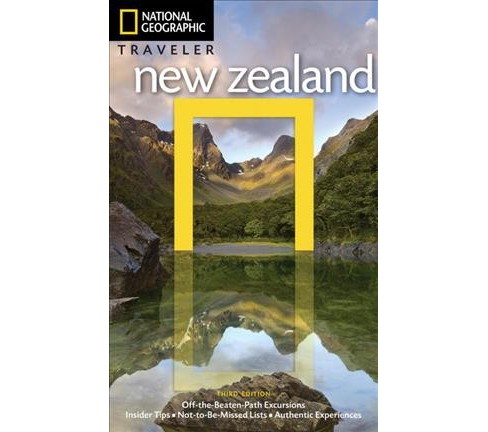 National Geographic Traveler New Zealand (Paperback) (Peter Turner) - image 1 of 1