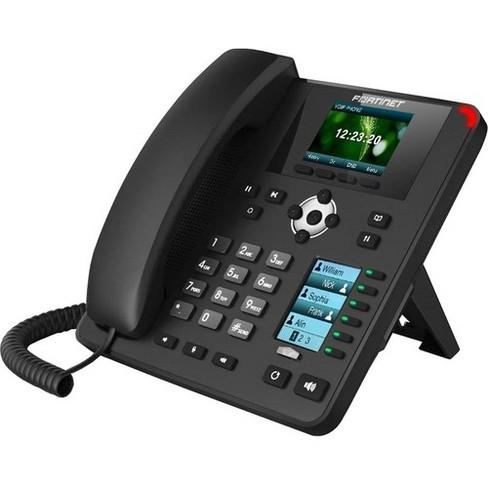 Fortinet FortiFone FON-375 IP Phone - Wall Mountable, Desktop - VoIP - Caller ID - Speakerphone - 2 x Network (RJ-45) - PoE Ports - Color - image 1 of 1