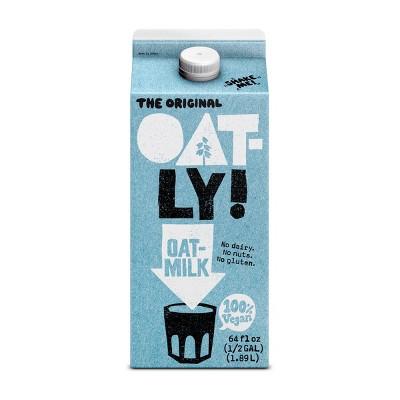 Non-Dairy Milks: Oatly