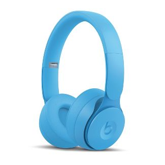 Beats Solo Pro On-Ear Wireless Headphones - More Matte Collection - Light Blue