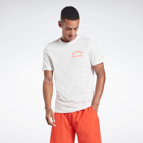 Reebok Weightlifting T-Shirt Mens Athletic T-Shirts - image 1 of 4