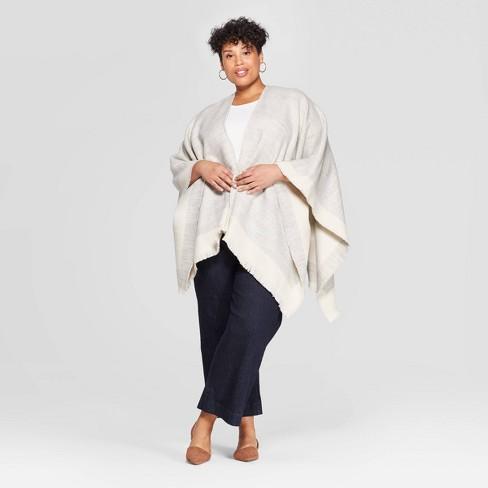Women's Kimono - A New Day™ Heather Gray - image 1 of 2