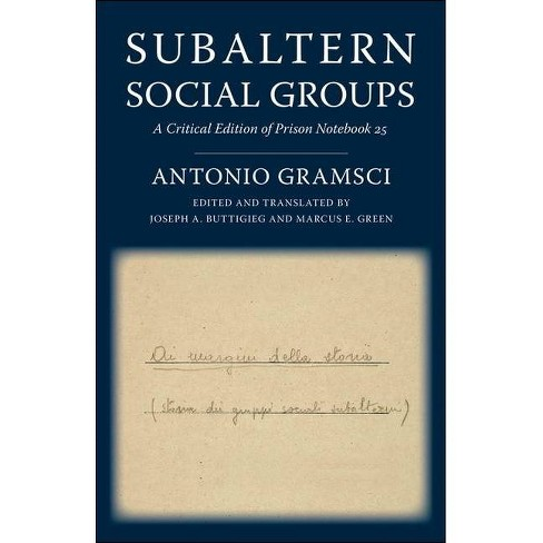 Subaltern Social Groups - (European Perspectives: A Social Thought and Cultural Criticism) (Hardcover) - image 1 of 1