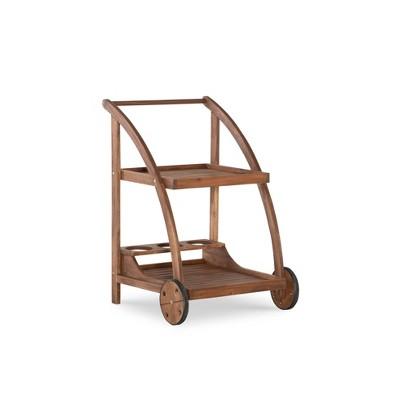 Catalan Trolley Brown - Linon