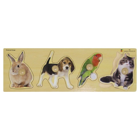 Edushape Giant Puzzle - Pets 5pc - image 1 of 1