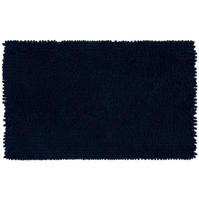 20 x34  Chunky Chenille Memory Foam Bath Rugs & Mats Nighttime Blue - Room Essentials™