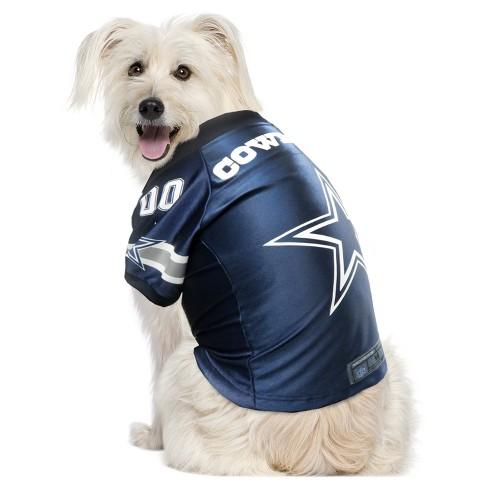 Dallas Cowboys Little Earth Pet Premium Football Jersey - Navy XS ... dc1db0cd0