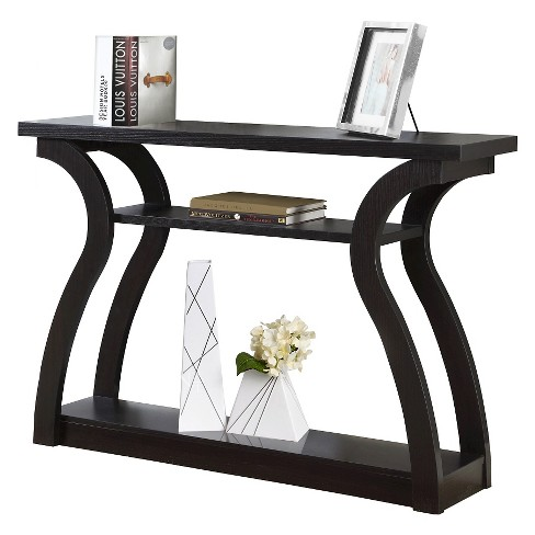 Console Table - Dark Cappuccino - EveryRoom - image 1 of 2