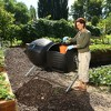 Two 50 Gallon Dual Compost Tumbler s - Black - Lifetime - image 3 of 4