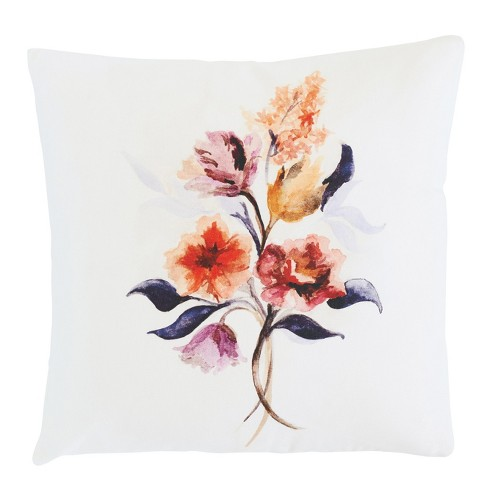 "Throw Pillows Grecian Floral 18"" x 18"" - Minted® - image 1 of 3"
