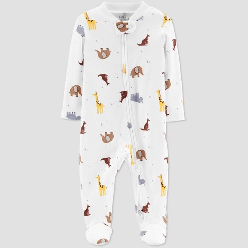 Little Planet Organic by Carters Baby Boys' Safari Sleep N' Play - Cream - image 1 of 1