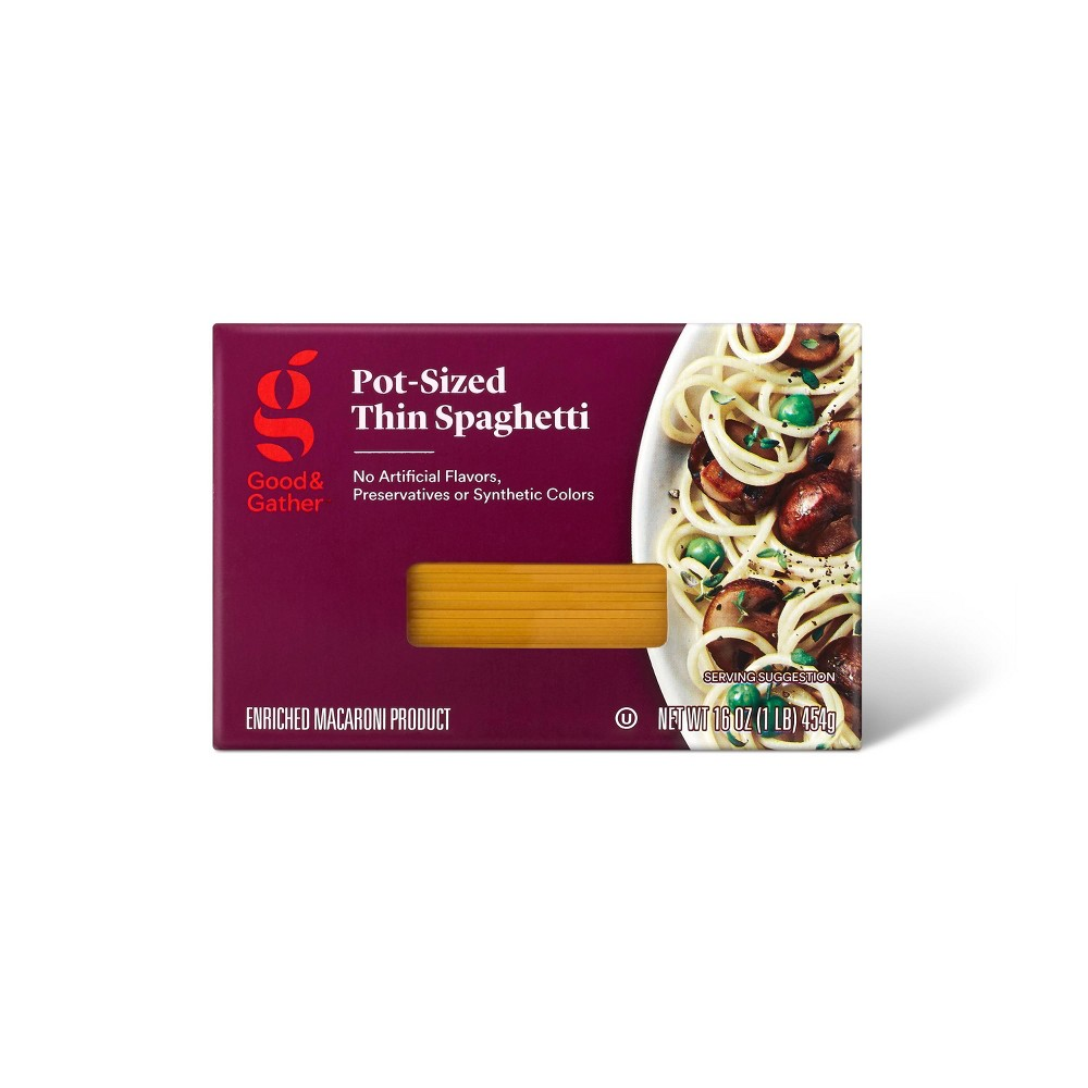 Pot-Size Thin Spaghetti - 16oz - Good & Gather