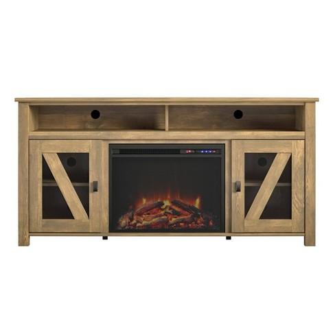 """60"""" Landson Fireplace Tv Stand - Room & Joy - image 1 of 4"""