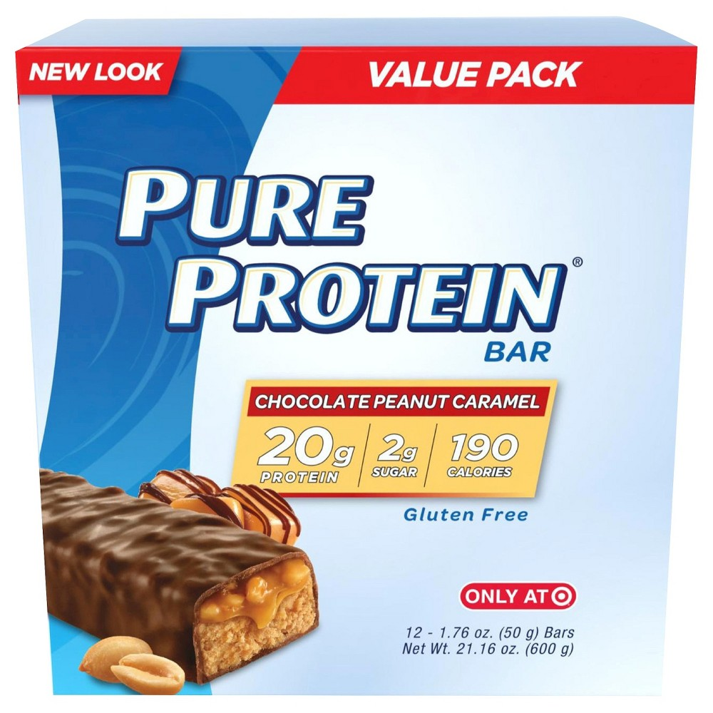 Pure Protein Bars Variety Pack 18 Count Now $11.18