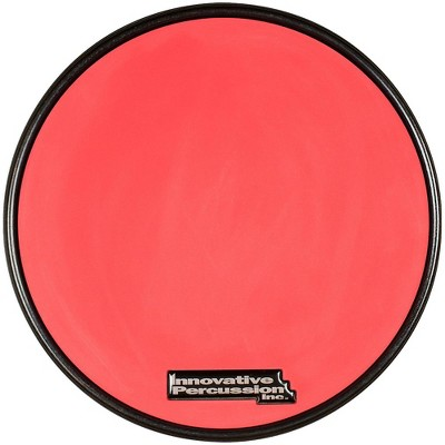 Innovative Percussion Red Gum Rubber Pad with Rim 11.5 in.