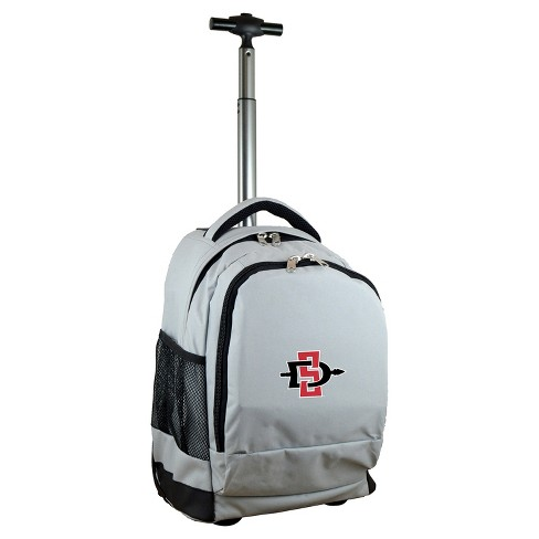 NCAA Mojo Gray Premium Wheeled Backpack - image 1 of 4