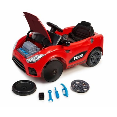 Feber 6V My Real Car 6-in-1 Breakdown Powered Ride-On - Red