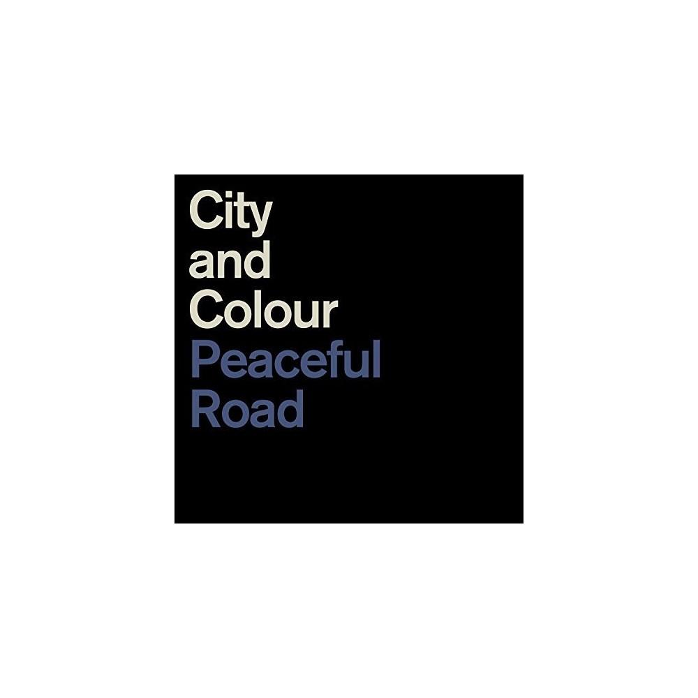City And Colour - Peaceful Road/Rain (Vinyl)