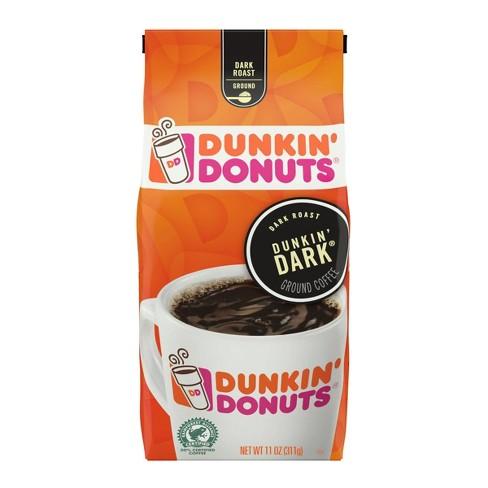 Dunkin' Donuts Dunkin' Dark Roast Ground Coffee - 11oz - image 1 of 3